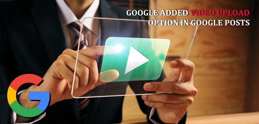Google Video Uploading Option