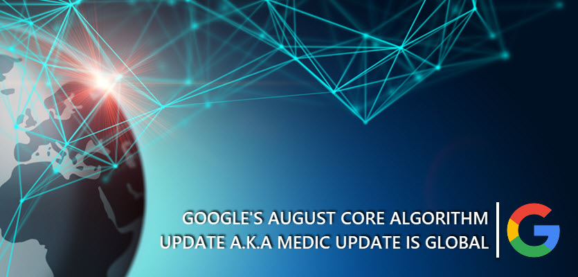 Google Medic Update is Global