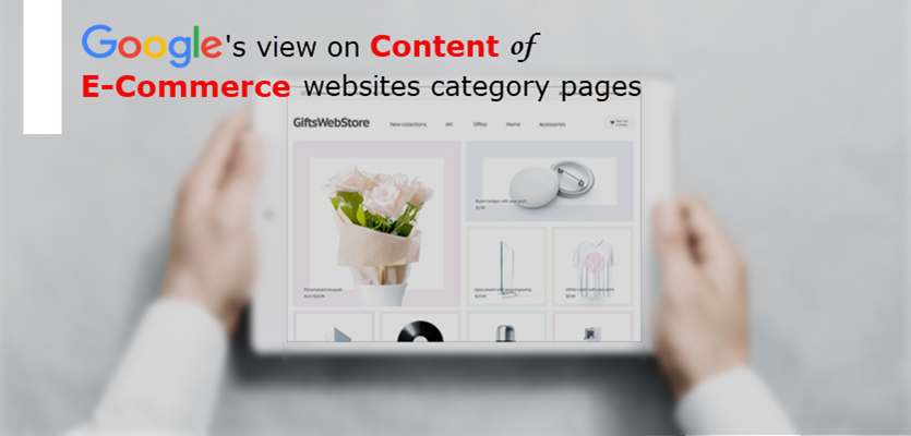 E-Commerce Category Pages Content
