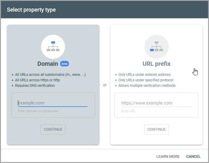 Domain Properties