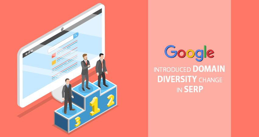 Google Domain Diversity Change