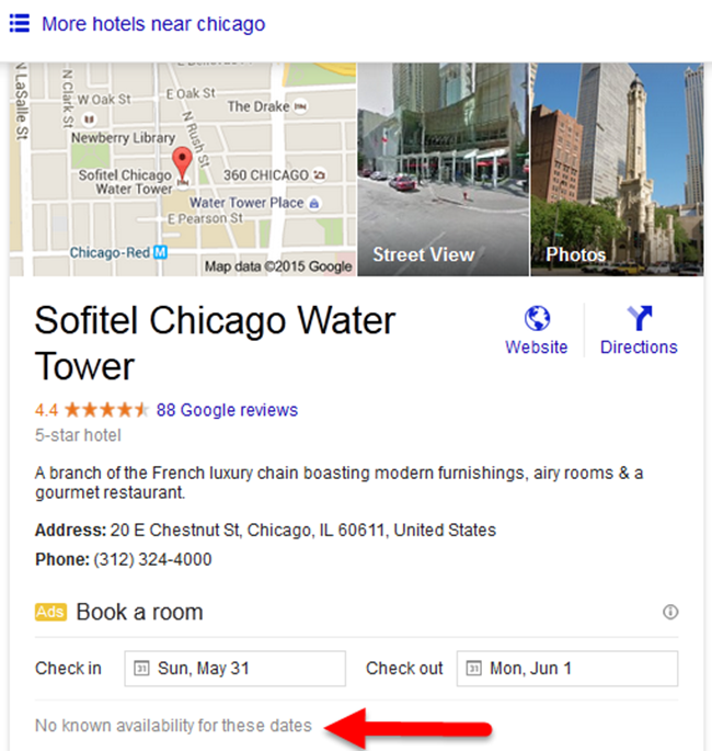 Sofitel Chicago