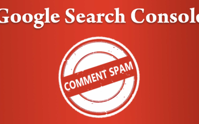 Google Search Console Comment Spam Page Updated