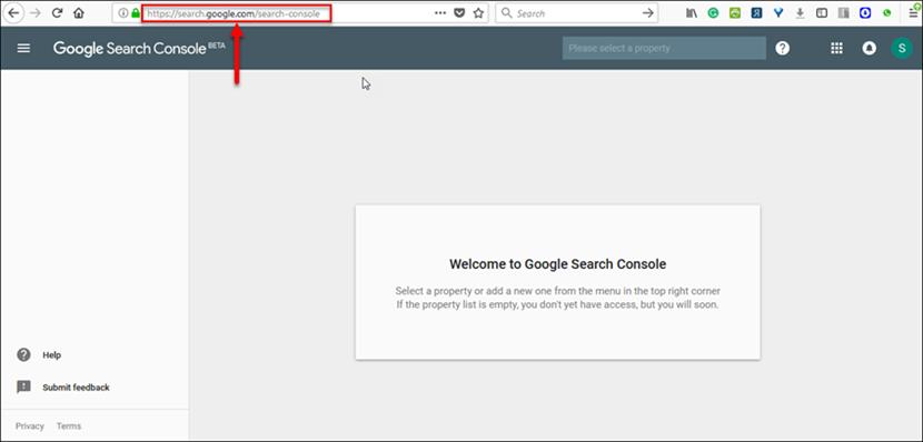 New Google Search Console Dashboard