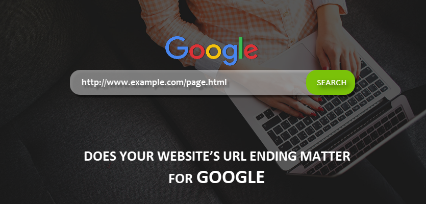 Google on Website URL Ending