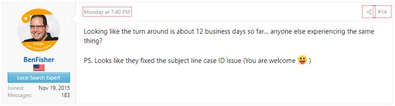 Ben Fisher on Business Redressal Complaint Form