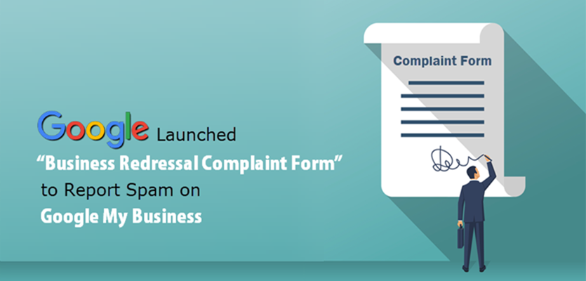 Google Business Redressal Complaint Form