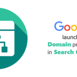 "Google Launched ""domain properties"" in Search Console"