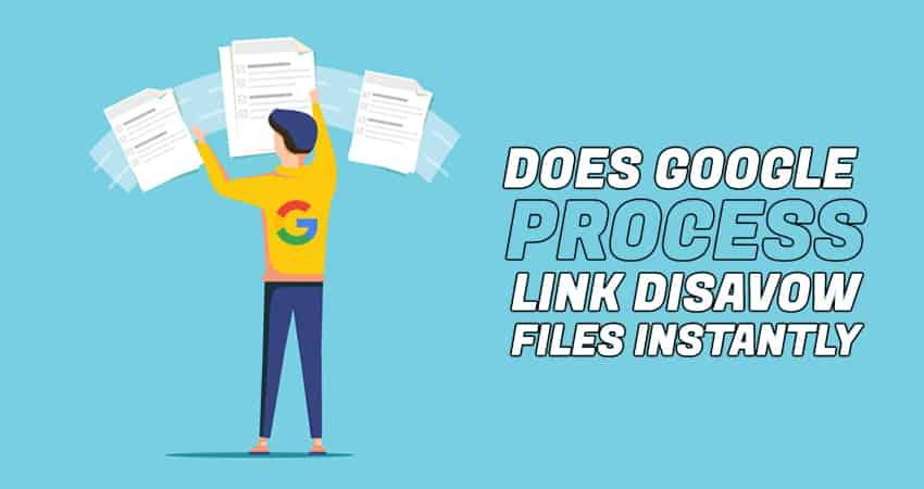 Link Disavow File Process