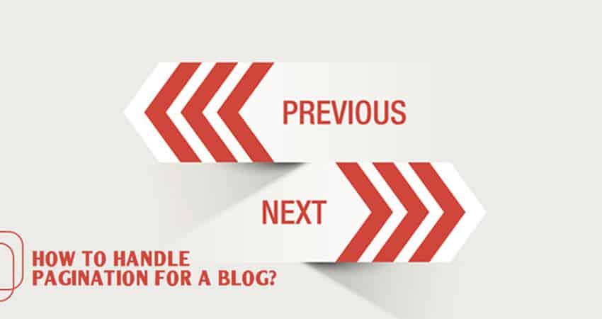 Blog Pagination Handling Tips