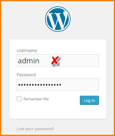 Admin User Name