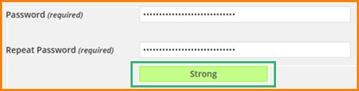 Password Strength Indicator