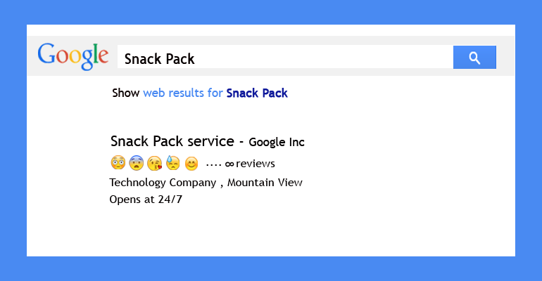 Get Snack Pack Google Results For Any Search Query