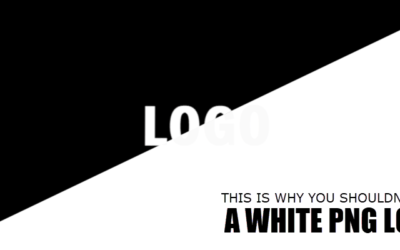 This Is Why You Shouldn't Use a White PNG Logo