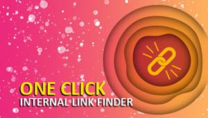 One Click Internal Link Finder